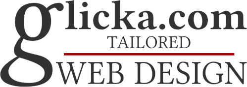 Glicka.com Tailored Web Design Logo